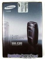 Test des Samsung SGH-X300-1