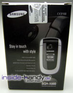Test des Samsung SGH-X660-2