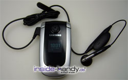 Test des Samsung SGH-X660-8