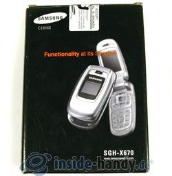 Test des Samsung SGH-X670-2