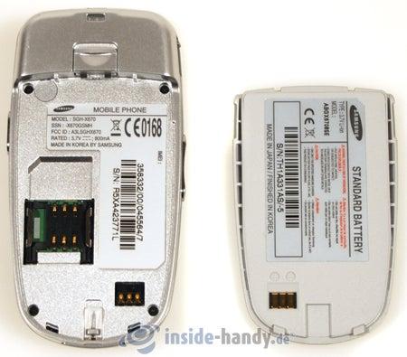 Test des Samsung SGH-X670-4