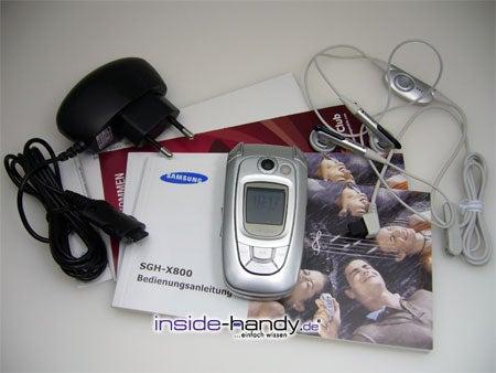 Test des Samsung SGH-X800-1
