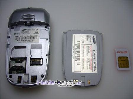 Test des Samsung SGH-X800-2