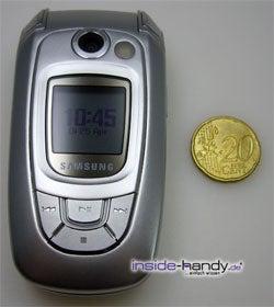 Test des Samsung SGH-X800-4