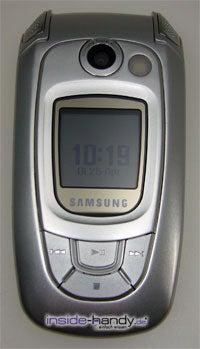 Test des Samsung SGH-X800-6