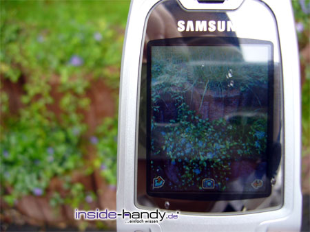 Test des Samsung SGH-X800-7