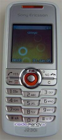Test des Sony Ericsson J230i-9