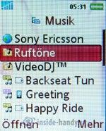 Test des Sony Ericsson K610i-20