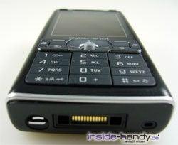 Test des Sony Ericsson K800i-32