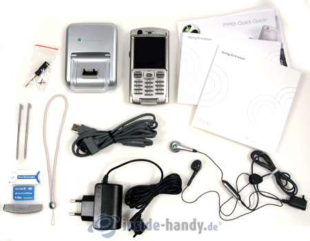 Test des Sony Ericsson P990i-3