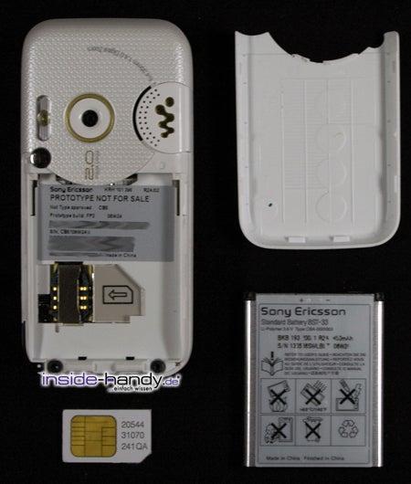 Test des Sony Ericsson W850i-2
