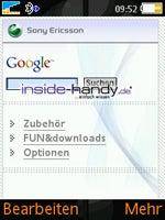Test des Sony Ericsson W850i-20