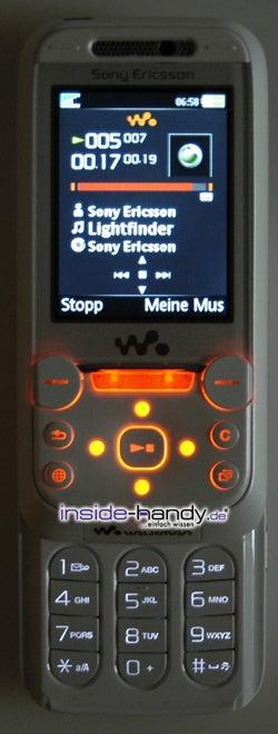 Test des Sony Ericsson W850i-6