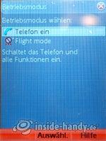 Test des Sony Ericsson W950i-11
