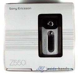 Test des Sony Ericsson Z550i-1