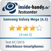 Testiegel Samsung Galaxy Mega