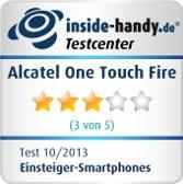 Testsiegel Alcatel One Touch Fire
