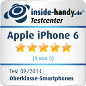 Testsiegel Apple iPhone 6