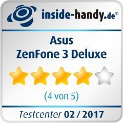 Testsiegel Asus ZenFone 3 Deluxe