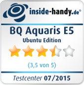Testsiegel BQ Aquaris E5 Ubuntu Edition
