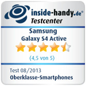 Testsiegel Galaxy S4 Active