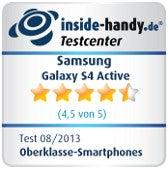 Testsiegel Galaxy S4 Active