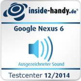 Testsiegel Google Nexus 6 Sound