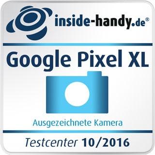 Test-Siegel Google Pixel XL Kamera