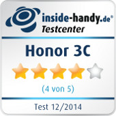 Testsiegel Honor 3C