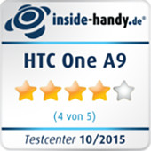 Testsiegel HTC One A9