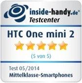 Testsiegel HTC One mini 2