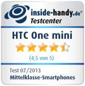 Testsiegel HTC One mini