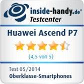 Testsiegel Huawei Ascend P7