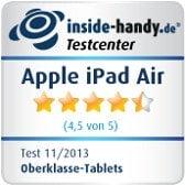 Testsiegel iPad Air