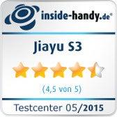 Testsiegel Jiayu S3