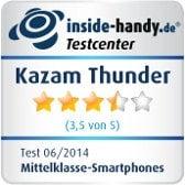 Testsiegel Kazam Thunder