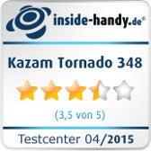 Testsiegel Kazam Tornado 348