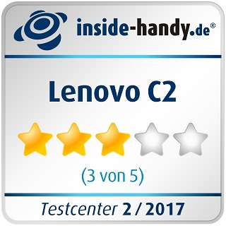 Testsiegel Lenovo C2