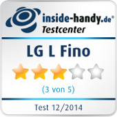 Testsiegel LG L Fino