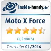 Testsiegel Moto X Force