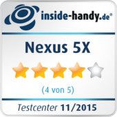 Testsiegel Nexus 5X