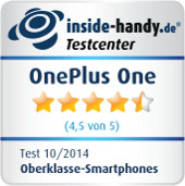Testsiegel OnePlus One