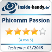 Testsiegel Phicomm Passion