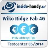 Testsiegel Preis/Leistung Wiko Ridge Fab 4G