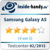 Testsiegel Samsung Galaxy A5