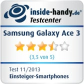 Testsiegel Samsung Galaxy Ace 3