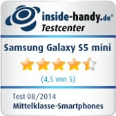 Testsiegel Samsung Galaxy S5 mini