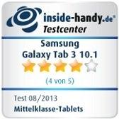 Testsiegel Samsung Galaxy Tab 3 10.1