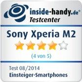 Testsiegel Sony Xperia M2