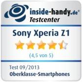 Testsiegel Sony Xperia Z1